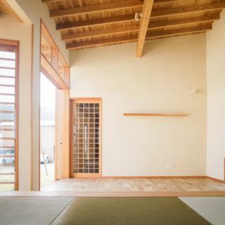 五島 福江島「中庭のある家」
