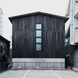 長崎 「大橋 焼杉の家」